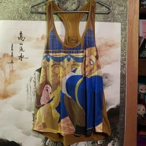 Beauty and the Beast Disney Tank Top